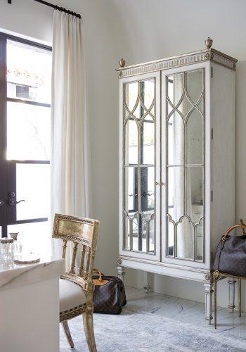 Modern Mediterranean Custom Saville II Cabinet Dressing Room