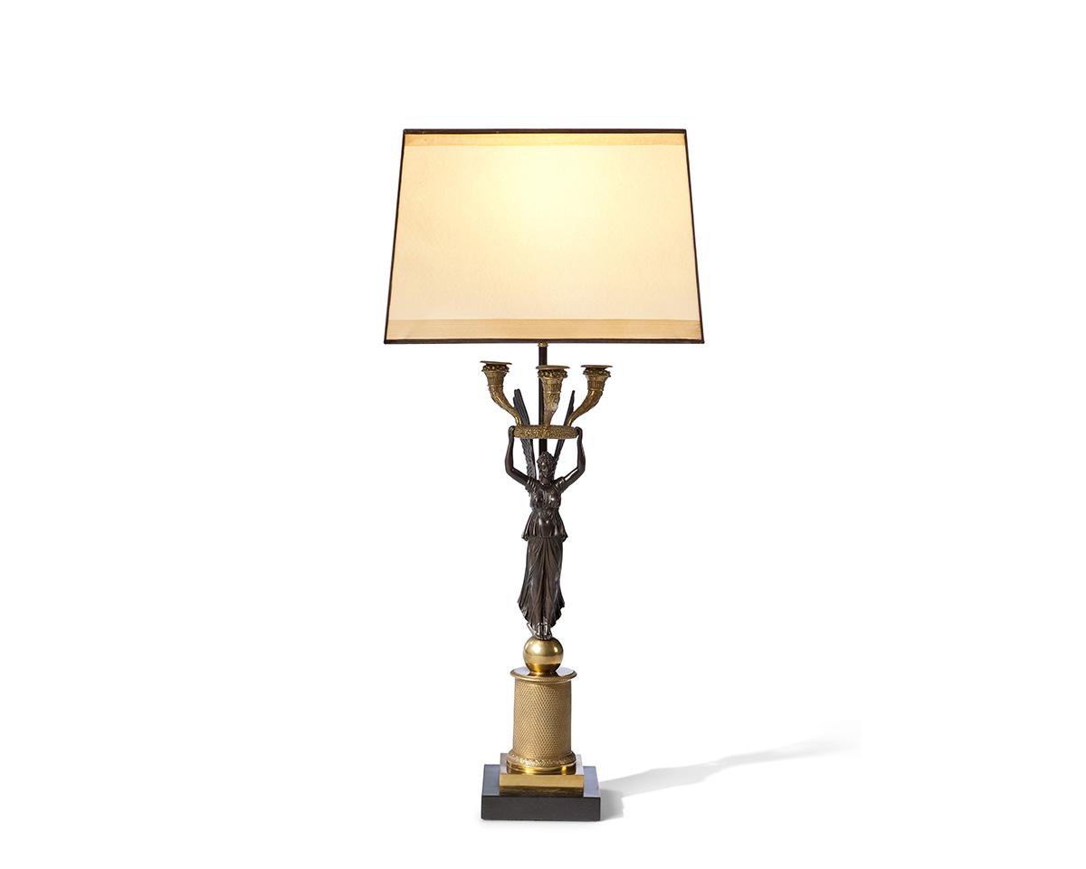 Alato Golden and Bronze Timeless Lamp