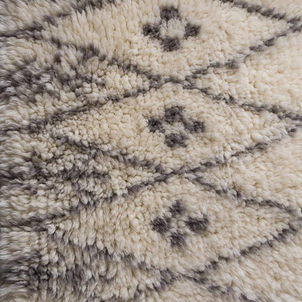 Ivory Casablanca Wool Rug
