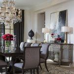 Villa Orsini Buffet in Crystal Cove Villa Dining Room