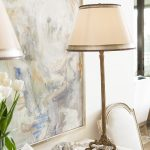 Hand Carved Antique Aris Table Lamp