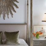 Villandry Bed Closer Look in Modern Mediterranean