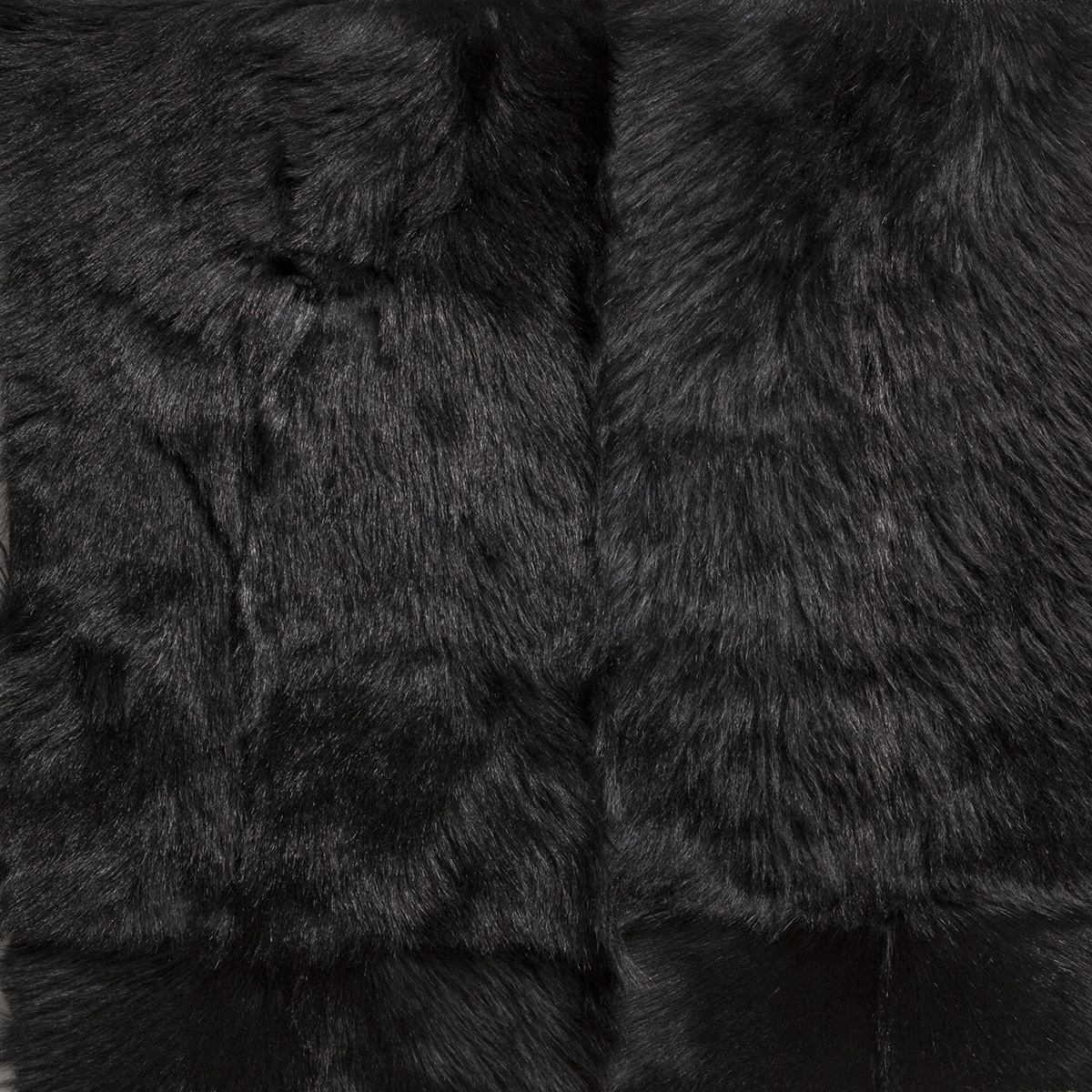 Hand Crafted Antartic Full Obsidian Frosted Rug