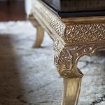 Palazzo Cocktail Table Leg Details