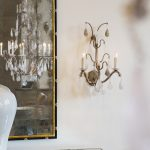 Montovani Sconce in the Showroom
