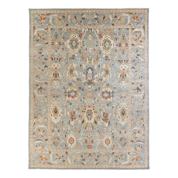 Sultanabad Blue C841-066-560 Transitional Rug