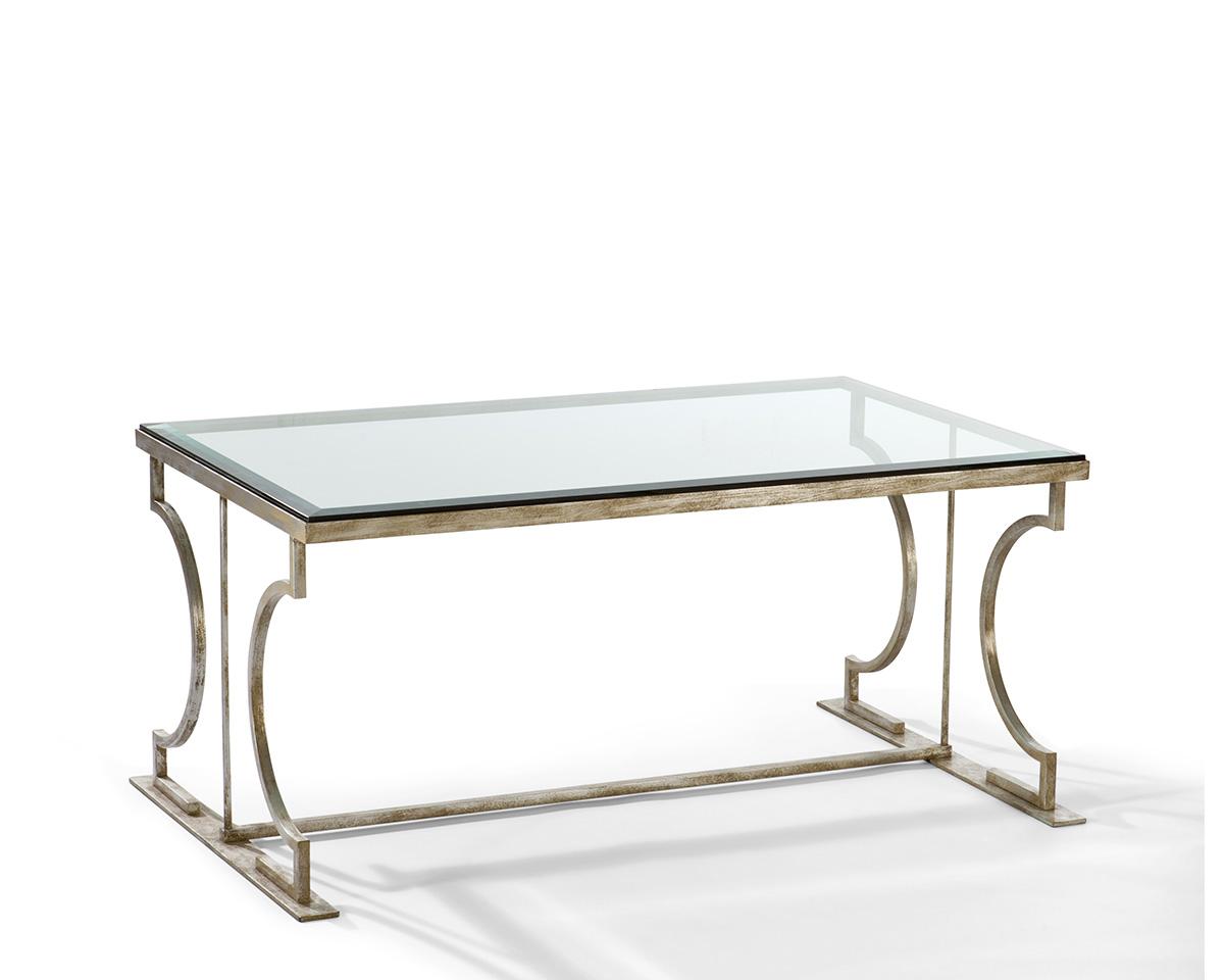 Alessia Elegant Rectangular Cocktail Table