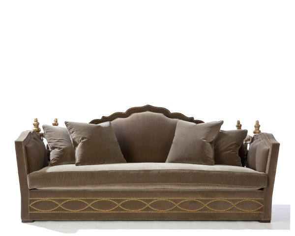 Carpello II Sofa with Four Pillows