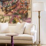 Emelio Floor Lamp from the Evolution Collection