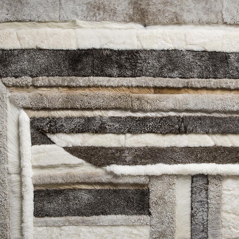 Ebanista-Modern-Textured-Rug-SHANGRILA-CHAMPAGNE-TWO-TONES-MINK-primary
