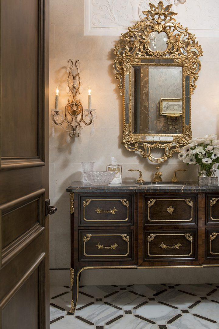 Baroque II Luxurious Mirror Chateau Madrone