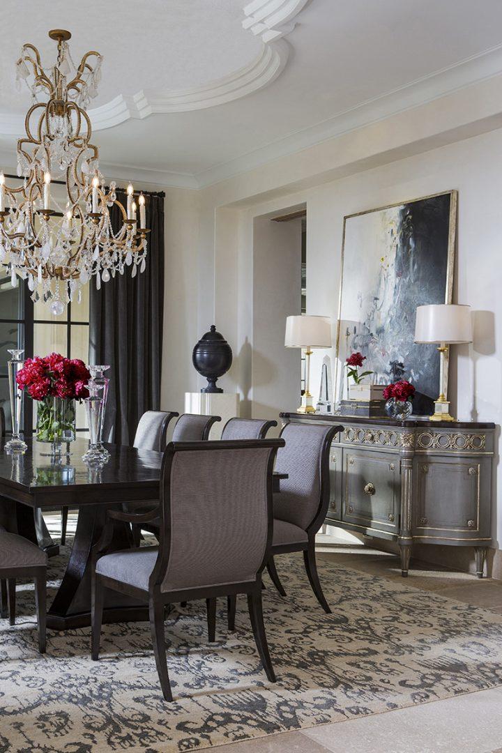 Crystal Cove Villa Dining Interior Design Styles