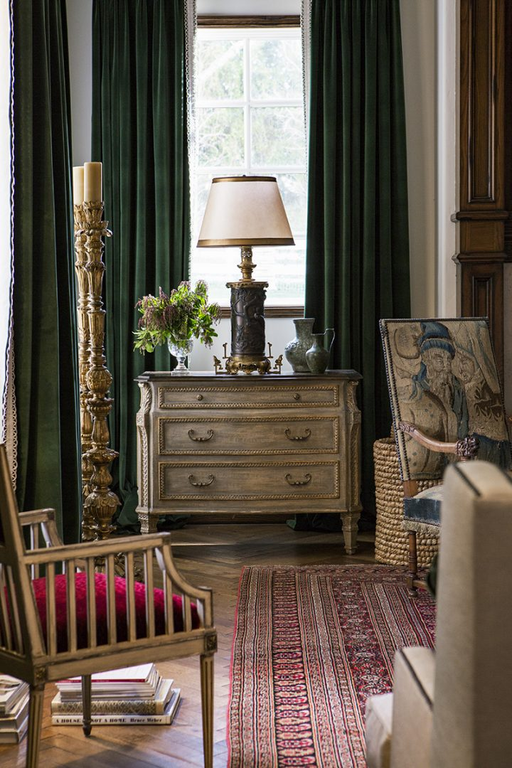 Bruna Table Lamp from Equestrian Estate