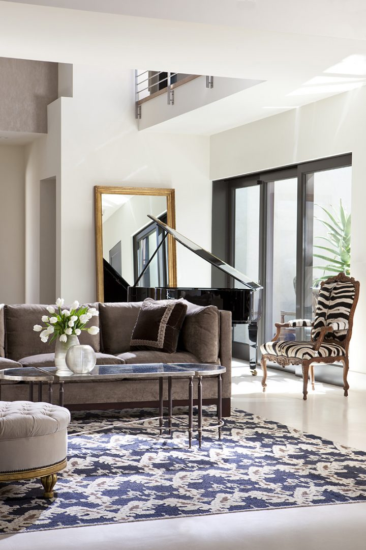 Campanile Elegant Mirror from Pacific Heights Residence