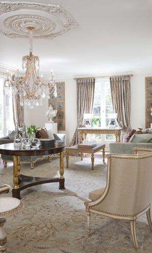 Sophisticated Interior Design Lookbook - San Marino Estate - classical estate