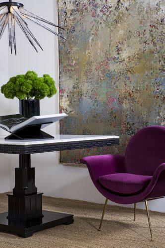 Rinaldi Velvet Designer Accent Chairs